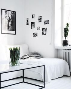 Black and white interior inspiration Decoration Inspiration, Interior Design Inspiration, Interior Exterior, My New Room, House Rooms, Home And Living, Decorating Your Home, Living Spaces, Living Room