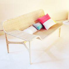 Rattan Lounge by Hiroomi Tahara