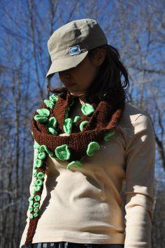 Crochet Octopus Scarf
