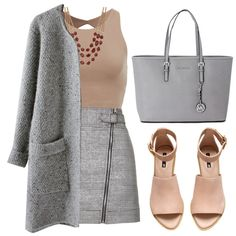 Sophia-James by designbecky on Polyvore featuring Topshop, H&M, Michael Kors and Lucky Brand