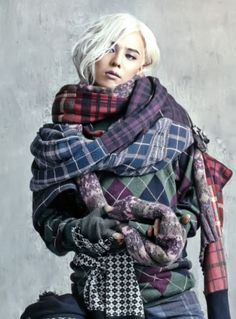 G-Dragon (Kwon Ji Yong ) ♡ #BIGBANG for Vogue Korea 2013