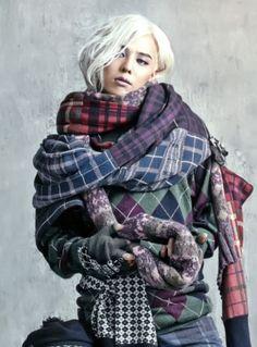 G-Dragon (Kwon Ji Yong ) ♡ #BIGBANG for Vogue Korea 2013