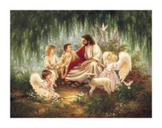 All children go to heaven...Matthew 19:14 But Jesus said, Suffer little children, and forbid them not, to come unto me: for such is the kingdom of heaven.