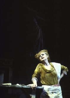 Angela Lansbury as Mrs. Lovett in Sweeney Todd. She will always be my favorite. <3