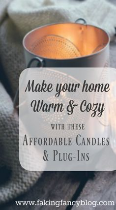 I love how gorgeous and expensive these candles look- but they are so affordable I can buy one for every room in my home!