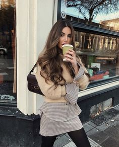 Negin Mirsalehi: When layers work better than big coats. Mode Outfits, Fashion Outfits, Womens Fashion, Casual Outfits, Negin Mirsalehi, Outfit Look, Mode Inspiration, Fall Looks, Looks Style