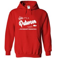 Its a Paterson Thing, You Wouldnt Understand !! Name, Hoodie, t shirt, hoodies, shirts