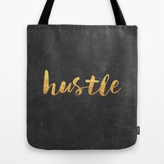 Hustle by Text Guy Inspiration Quote