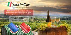 Você que é apaixonado pela Itália faça parte e ganhe descontos e vantagens em vários estabelecimentos ( Brasil e Itália) www.gustoitaliano.com.br