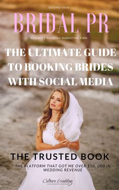 The Ultimate Guide to booking brides with Social Media #WeddingPlanners Find out about the platform that made me over $50, 000 in wedding business. http://www.culturewedding.ca/ready-to-make-over-50-000-in-wedding-business/