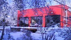 Mikrohaus mit integrierter Einlegerwohnung. Merkmale: Baukastenausführung…