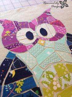 Confettis Owl Couettes |  Designs ReannaLily |  Jen Eskridge