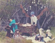 Awesome themes Nativity session» Wildflowers Photography