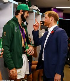 Prince Harry congratulates South African rugby team on their World Cup final victory over England South African Rugby, Gym Workout Tips, World Cup Final, Rugby World Cup, Prince Harry And Meghan, Duke And Duchess, Victorious, Nov 2, Image