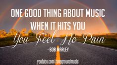 The truth about music - Bob Marley Quote #bobmarley #quote #quote #wisdom #truth #music #music