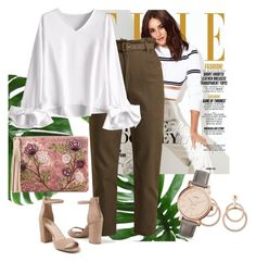 """""""Date night"""" by laurenjplayle-1 ❤ liked on Polyvore featuring Isa Arfen, Venus, Sam Edelman and FOSSIL"""