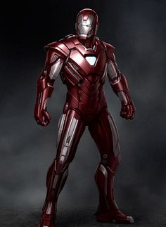 #transformer Movie version of Iron Man armor - Mark33 (silver centurion)