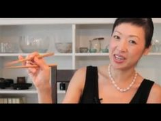 How to Use Chopsticks Correctly - Chopsticks Tips Video --Here's the right way, not my way.