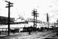Seattle's Westlake Public Market, 1910