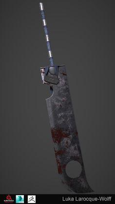 Anime Weapons, Sci Fi Weapons, Weapon Concept Art, Weapons Guns, Fantasy Sword, Fantasy Armor, Fantasy Weapons, Dark Fantasy Art, Armas Ninja