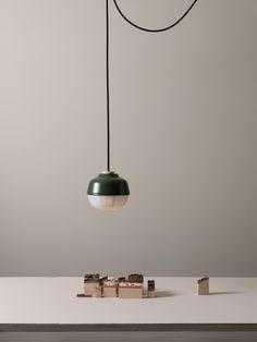 KIMU 2015 The New Old Light │Maze Green│Small│ Aluminum /Paper