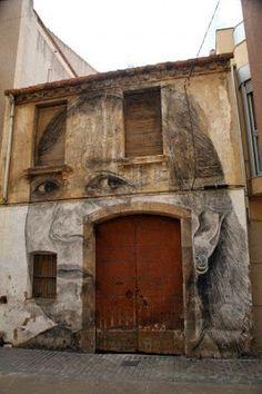 Jorge Rodríguez Gerada retratos gigantes. | Quiero más diseño