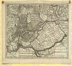 Beeldmateriaal | Kaart van Schieland en Krimpenerwaard. ca. 1750 | Streekarchief Midden-Holland
