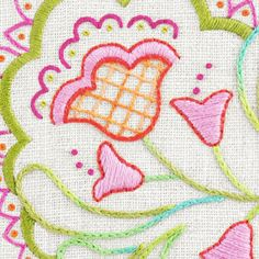 Look what I found on #blitsy! Heather Bailey Embroidery Patterns #blitsybuys