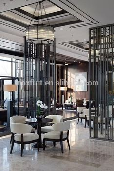 Modern Malaysia Style Metal Restaurant Room Divider Wall