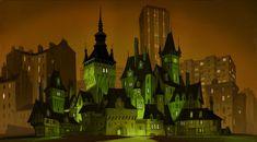 Living Lines Library: Hotel Transylvania (2012) - Visual Development: Environment