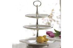 """Arte Italica """"Tuscan"""" 3-Tiered Stand   Bloomingdale's"""