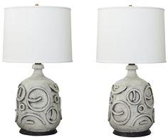 Ceramic Lamps, c.1966