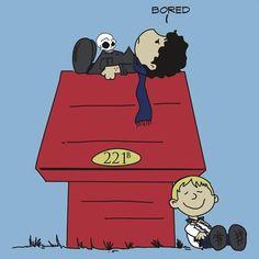 Peanuts Sherlock (BBC) - OMG I JUST CAN'T I CAN'T EVEN