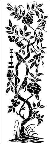 Tree stencils from The Stencil Library. Stencil search results page Tree Stencil, Stencil Art, Stenciling, Stencil Patterns, Stencil Designs, Kirigami, Flower Line Drawings, Stencils Online, Stencil Printing