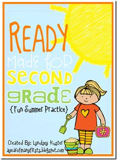 Super neat summer packet to ensure students don't lose what they've learned in first grade!
