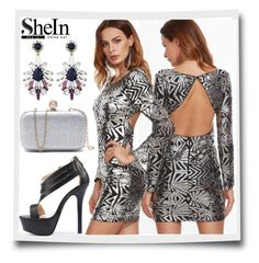 """""""# 3/4 Shein"""" by almira-mustafic ❤ liked on Polyvore featuring Shourouk"""