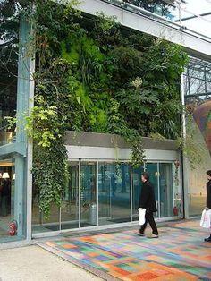 Cartier Foundation vertical garden