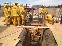 Trench rescue training prepares new recruits - 23ABC News