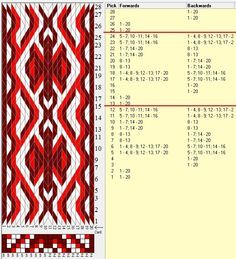 20 cards, 3 colors, repeats every 12 rows, sed_845, GTT༺❁
