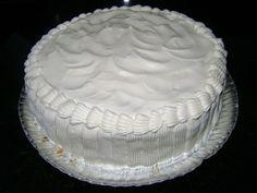 Creme branco para recheio e cobertura de bolo, uma cobertura ou recheio, combina com qualquer tipo de massa, bem fácil de fazer e o melhor com um custo