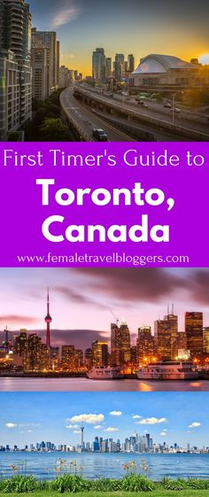 Toronto, Canada is a beautiful city. If you're looking for things to do in Toronto, Canada you HAVE to check this out first. This travel guide for Toronto includes places to eat in Toronto, things to see in Toronto, food to try in Toronto, places to stay