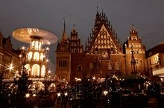 Poland, Wroclaw Christmas Market