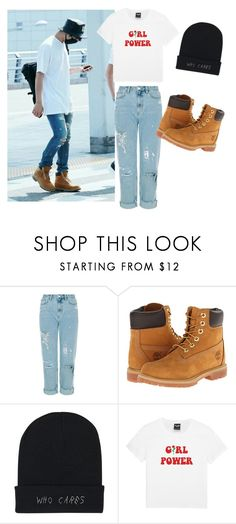 """""""BTS Jungkook inspired outfit"""" by melaniecrybabyz on Polyvore featuring Timberland"""