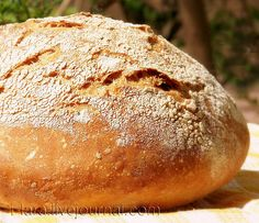 Fresh from the oven - Rustic Loaf Bread Recipes, Baking Recipes, Valentines Day Food, Artisan Bread, Bread Baking, Bread Food, Healthy Chicken, Food Inspiration, Pantry