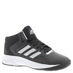 02e9148349eca Adidas Neo Mesh Tongue Men s Cloudfoam Ilation Mid Wide Basketball Shoe,  Black Matte Silver White, 12 Us. Sports Shoes