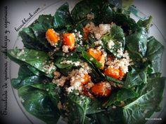 Ensalada de quinoa, calabaza y espinaca | Le Cookbook