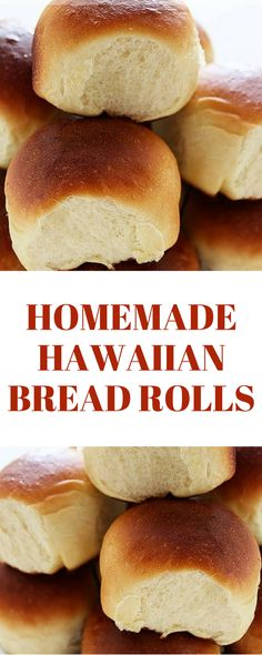 How to Make Homemade Hawaiian Bread Rolls