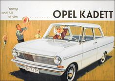 Opel Kadett Prospekt