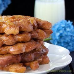 These Pineapple and Banana Fritters are melt in your mouth delicious. They get gobbled up like hot cake and my family begs for more!