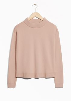 Wide Collar Sweater